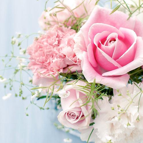 Pink flower B