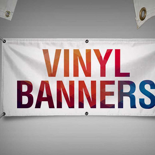 Banner publicitar stradal 500x100 cm