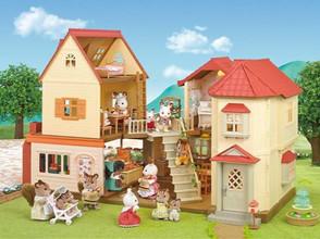 Figurines et bâtiments