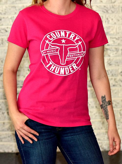 Round Logo Women's T-Shirt