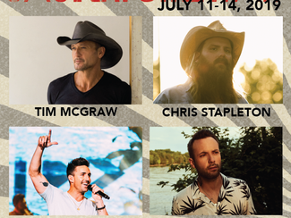 Tim McGraw, Dallas Smith, Jake Owen, & More Join CT Saskatchewan 2019