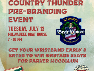 Wisconsin, pick up your wristband early at The Milwaukee Brat House!