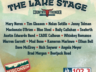 Your Lake Stage Schedule is HERE!