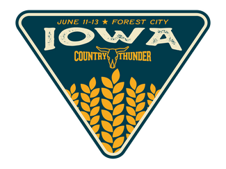Country Thunder Iowa, your schedule is HERE!