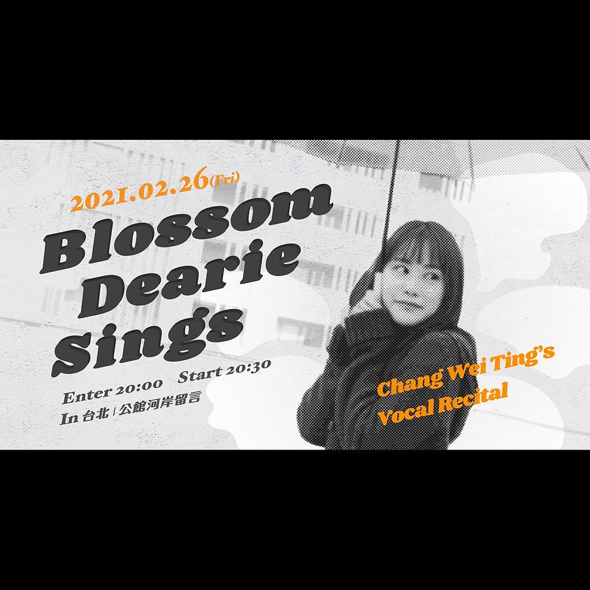 《Blossom Dearie Sings》張維庭個人首場音樂會