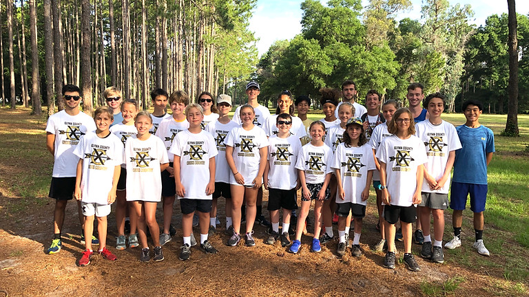 Glynn Distance Project Cross Country Camp