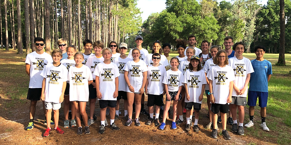 Glynn County Cross Country Camp