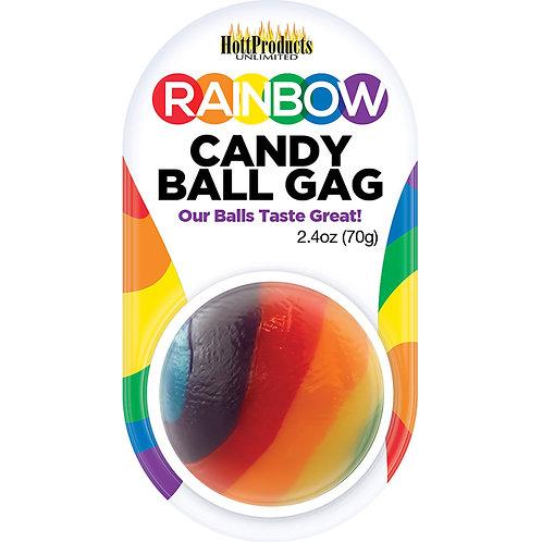 Rainbow Candy Ball Gag