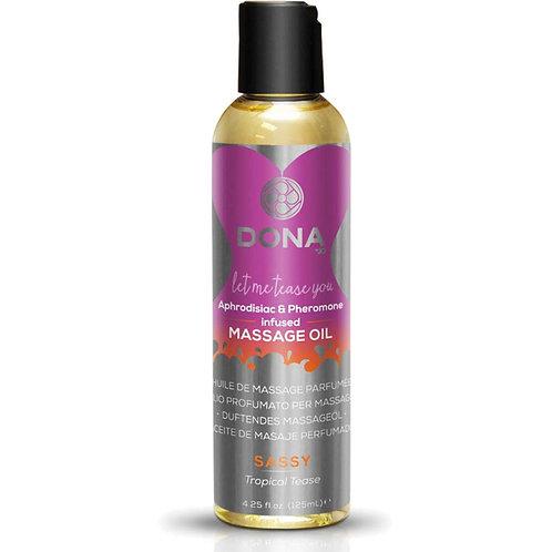 DONA Scented Massage Oil