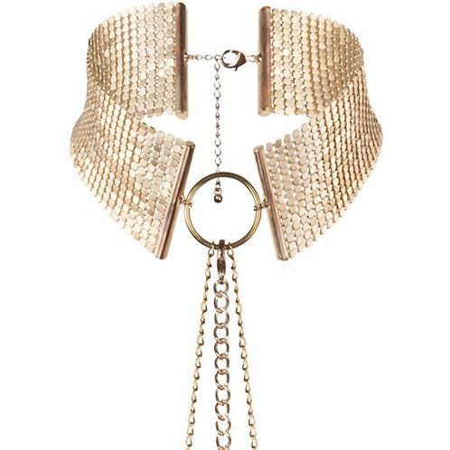 Metallic Chain Collar