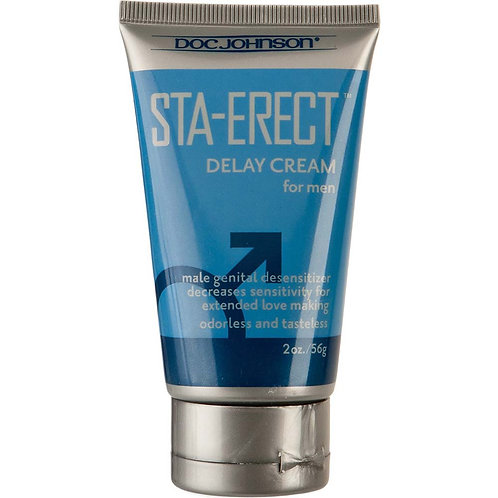 Sta-Erect Delay Cream for Men