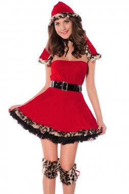 Sexy Little Red Riding Costume