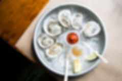 oyster plate