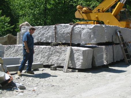 Bethel Cabin Granite Monolithic Columns