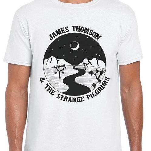 James Thomson & The Strange Pilgrims - T Shirt [WHITE]