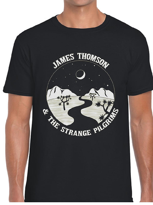 James Thomson & The Strange Pilgrims - T Shirt [BLACK]