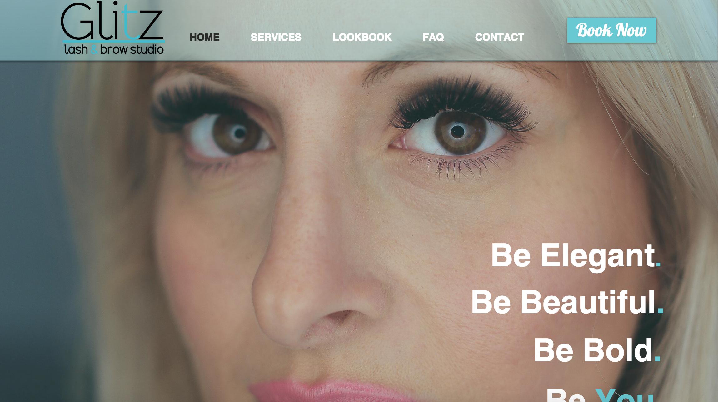 Glitz Lash And Brow Studio Eyelash Extensions Located In Montclair
