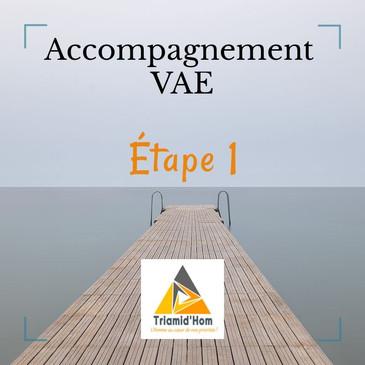 ÉTAPE 1 – Définition du projet : Information et conseil sur le dispositif (En option)