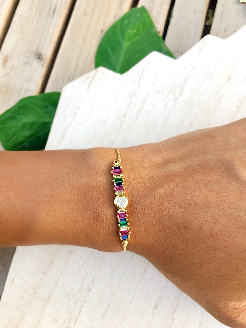 Color Bar Bracelet