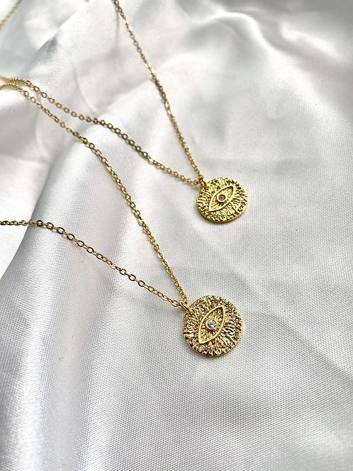 Eye Mantra Necklace