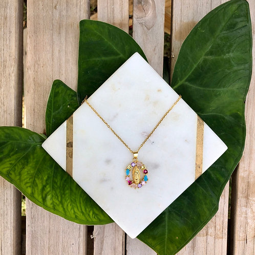 Mary Colored Necklace