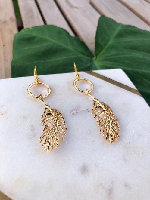 Wind Leaf Earrings