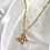 Thumbnail: Gold Butterfly Necklace
