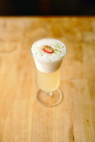 Berry patch will become your new favorite alcoholic beverage to make with our vinegar shrubs. The strawberry and the egg white are the perfect pair not to mention incredibly delicious!