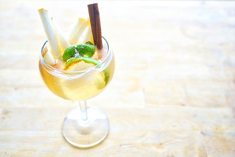 The Pearloma is a delicious tequila cocktail featuring our asian pear ginger cinnamon shrub. Prepare to wow your guest with this delicious cocktail!