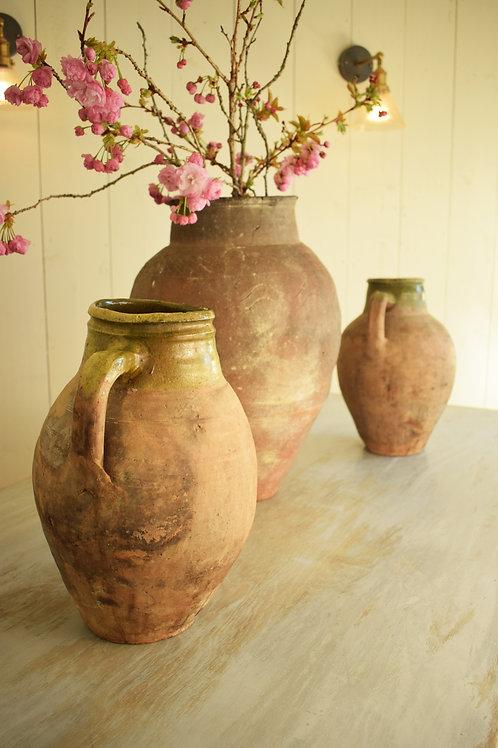 18th Century Aegean Earthenware Vases