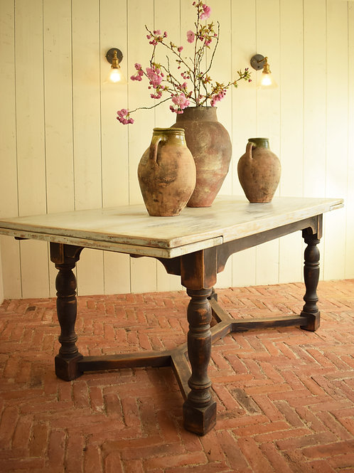 Oak Refectory Jacobean Style Dining Table