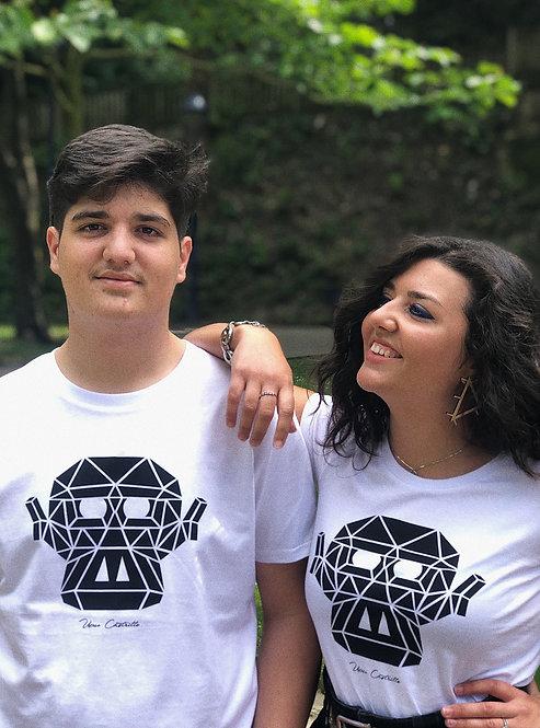 "Camiseta ""El Mono"" Blanca"