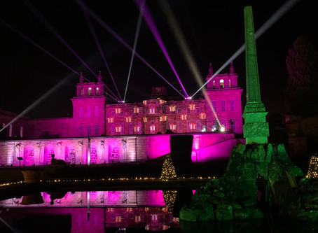 Blenheim Palace Alice in The Palace & Illuminated Light Trail