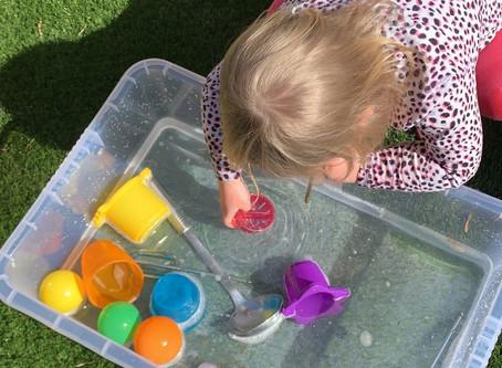 Free water play idea!