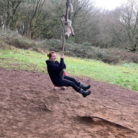 Bow Brickhill Wood Swing