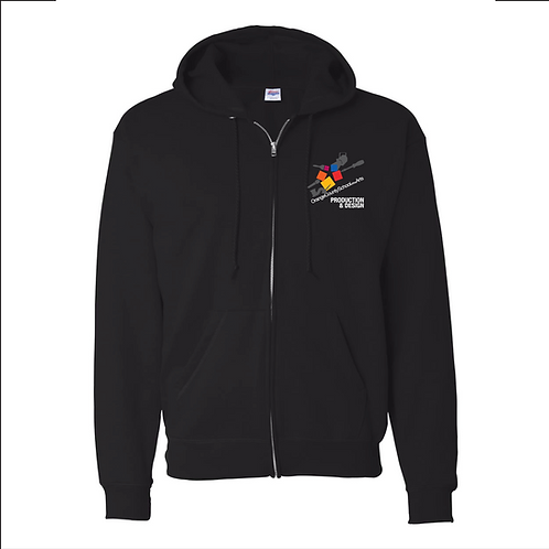 Official OCSA Embroidered Zipper Hoodie