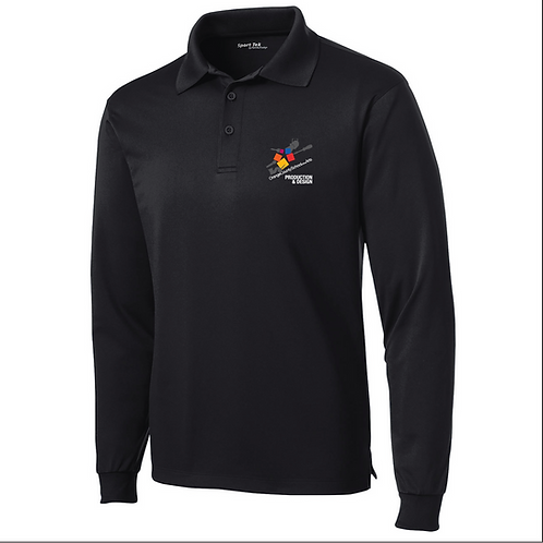 Official OCSA Embroidered Unisex Long Sleeve Polo