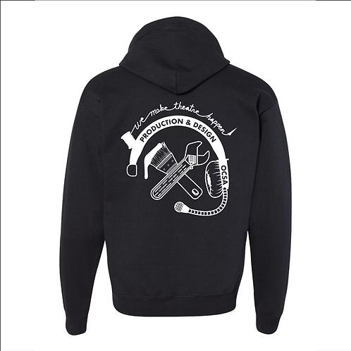 2019 Student Design Zipper Hoodie