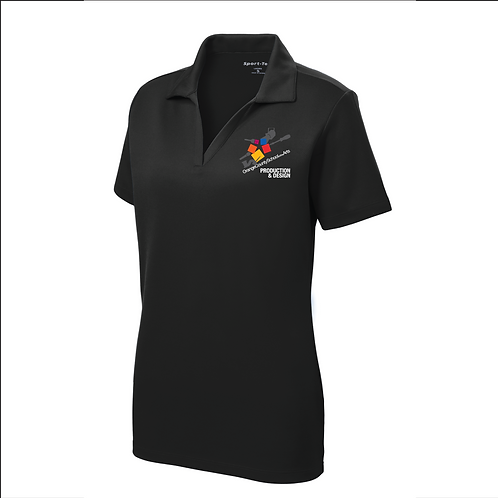 Official OCSA Embroidered Women's Short Sleeve Polo
