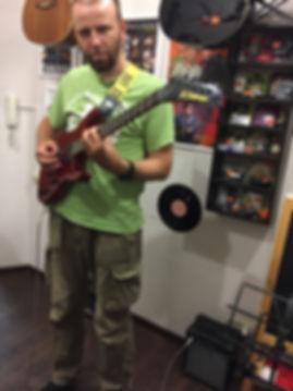 Уроки игры на гитаре Шубинский пер. д.2/3  г.Москва