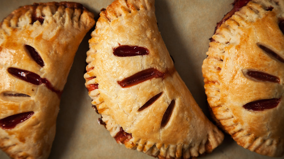Vegan Hand Pie: Apple Cinnamon