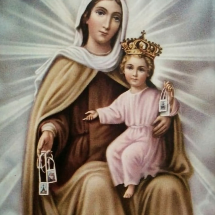 SOLEMN NOVENA TO OUR LADY OF MOUNT CARMEL AND FEAST DAY MASS