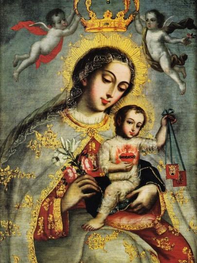 OLMC Crowning w Angels