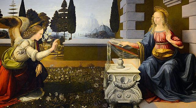 Annunciation of the Lord by Leonardo da