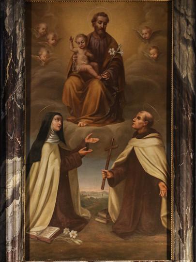 Saint Joseph w Carmelite Saints.jpg
