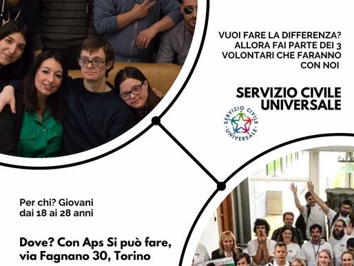 #ServizioCivileUniversale