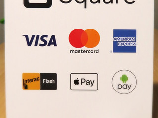 Square Up - Now Accepting Visa, Mastercard and American Express