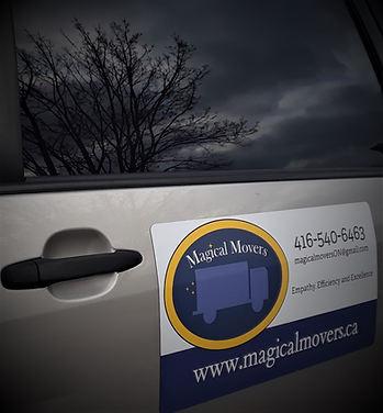 Magical Movers Van
