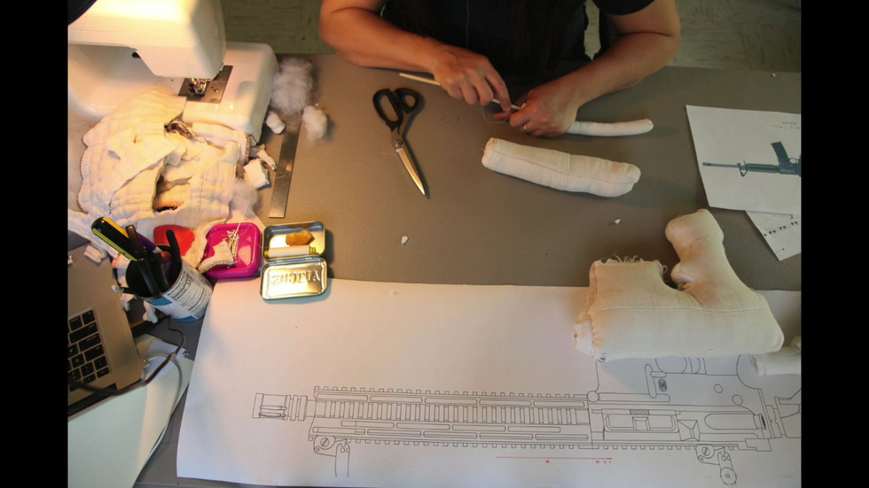 Making Weapon 1: Parkland at Saltonstall Art Colony