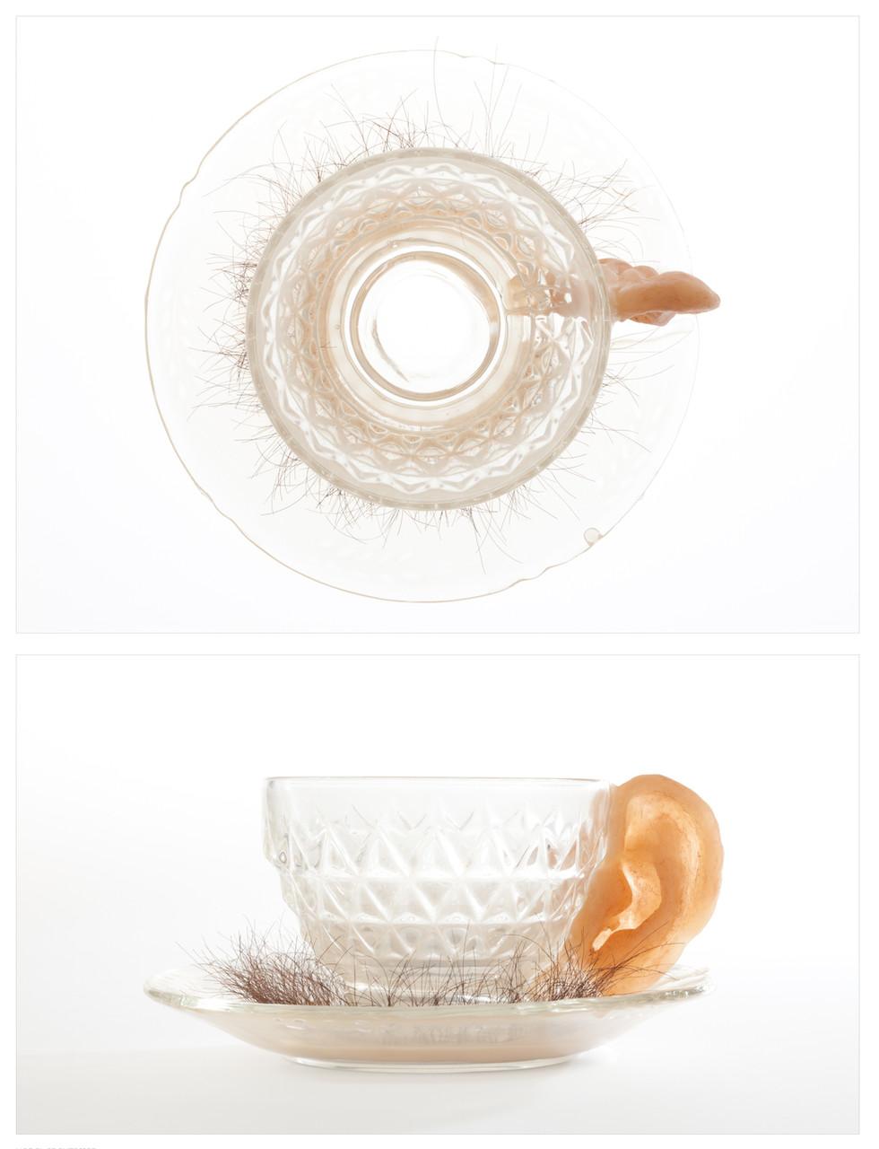 Good Listener Teacup: With Saucer